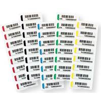 LABELS HEAT SEAL WHITE 5/8X3-1/4 THERMA DATA